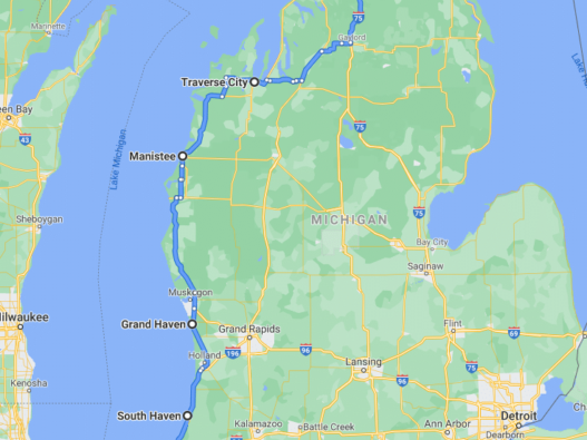 West Michigan Road Trip